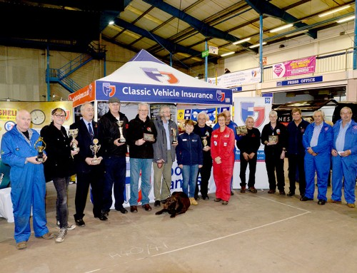 Display your classic cars at our November show