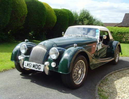 LE MANS MORGAN HEADLINES LINE-UP OF RARE CLASSIC CARS