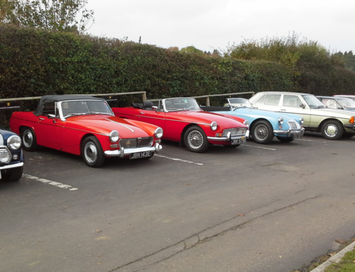 If you like a lotta classic cars – check out our clubs!