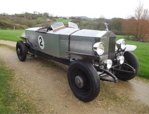 PRE-WAR ROLLS-ROYCE THE STAR OF UPCOMING BATH & WEST AUCTION