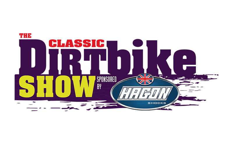 The Classic Dirt Bike Show Sponsored by Hagon Shocks